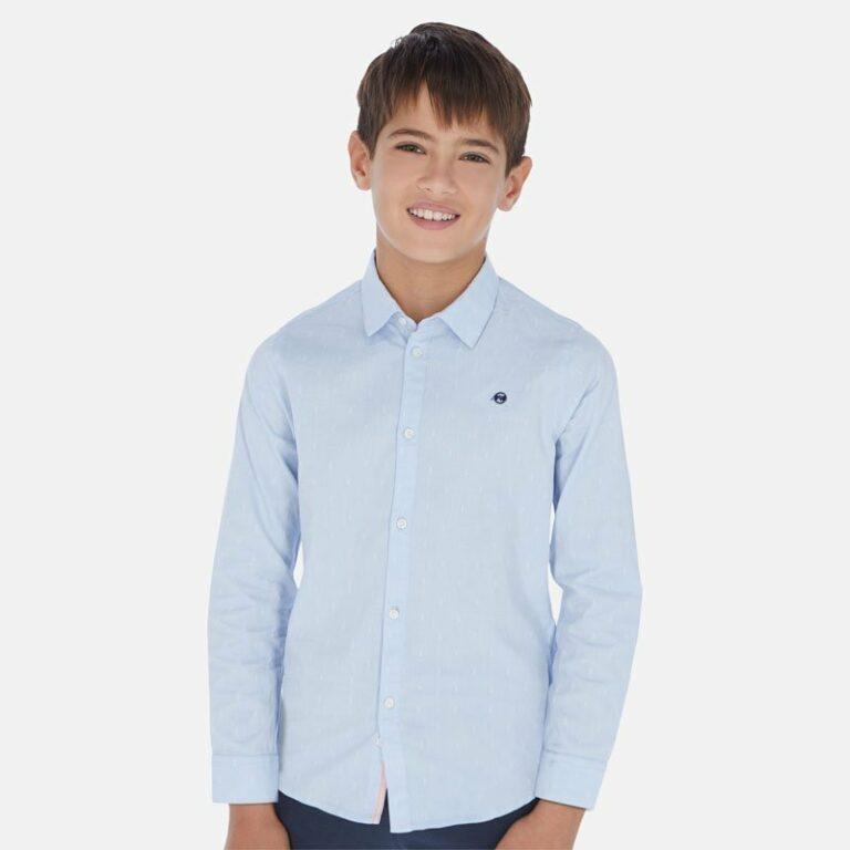 Παιδικό πουκάμισο μακρυμάνικο Mayoral 20-06155-052