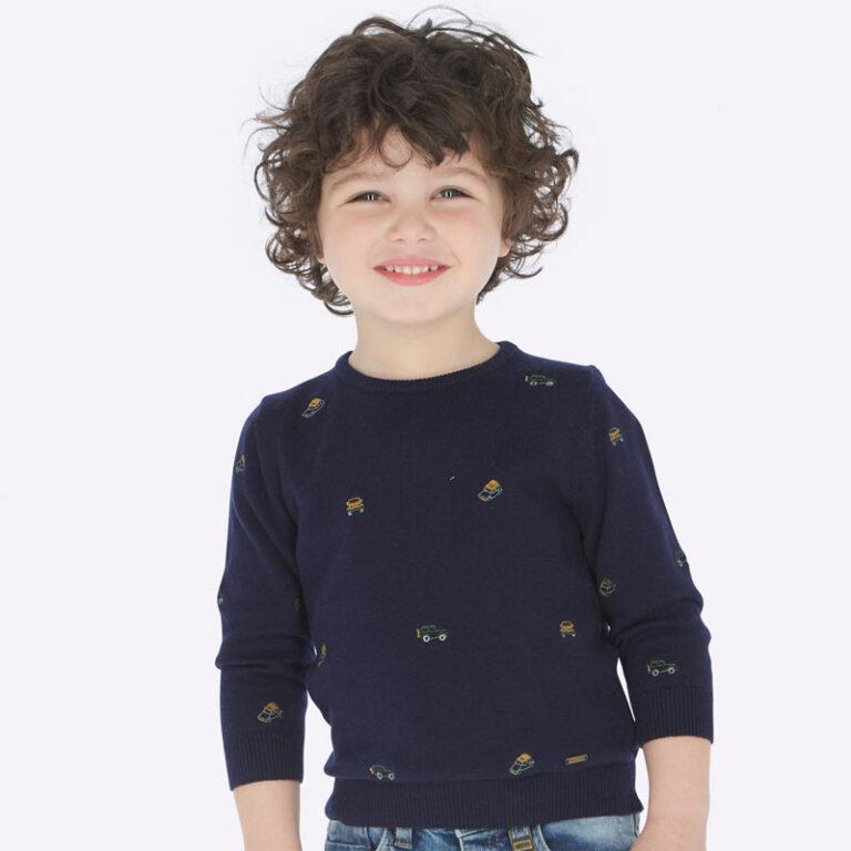Μπλούζα πλεκτή Μπλε Mayoral 4316-80