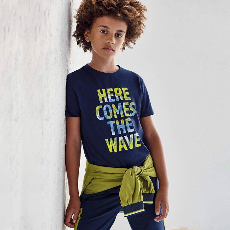 Παιδική μπλούζα κοντομάνικη Mayoral 21-06080-059