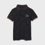 Παιδική μπλούζα πόλο κοντομάνικη Mayoral 21-06109-052