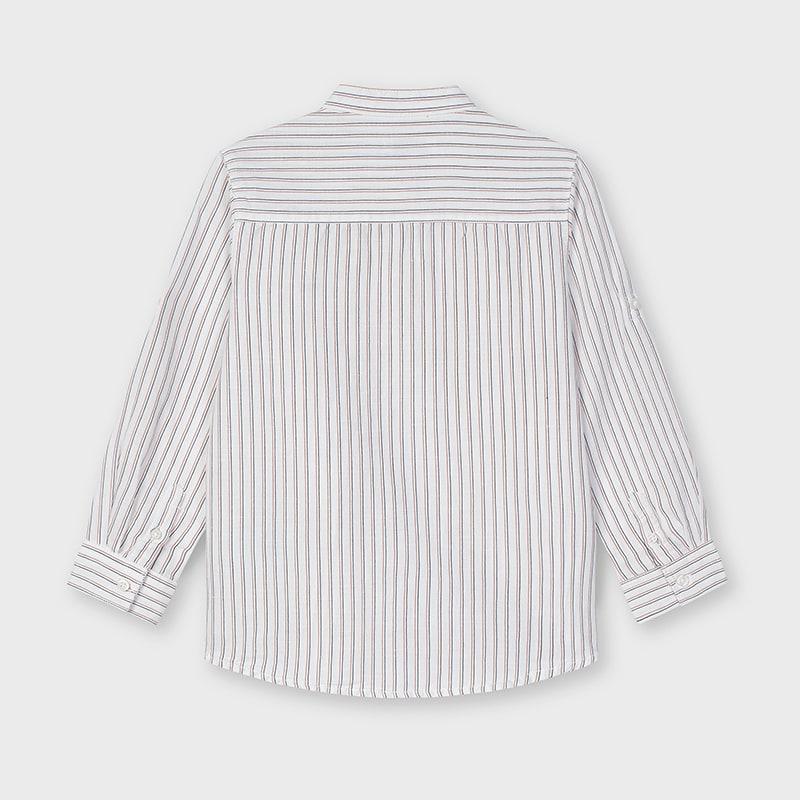 Παιδικό πουκάμισο μάο Mayoral λινό 21-03124-092