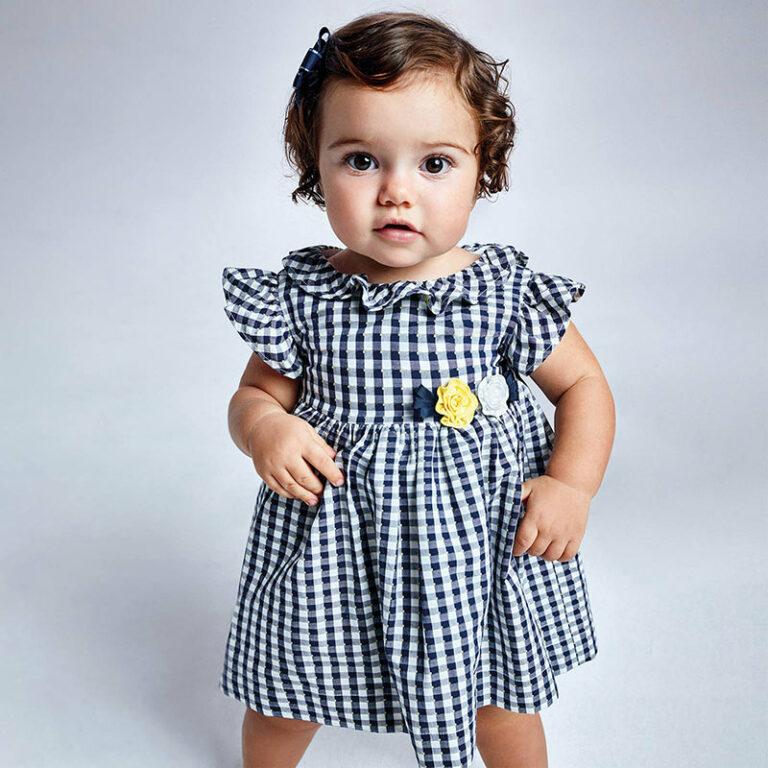 Παιδικό φόρεμα Mayoral καρό 21-01965-092