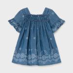 Παιδικό φόρεμα τζιν Mayoral 21-01981-005